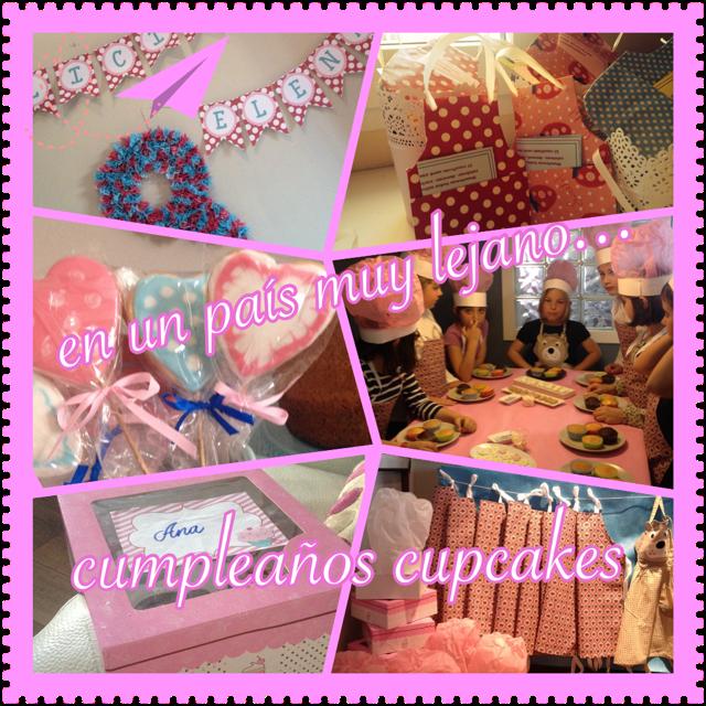 Fiesta cumpleaños cupcakes