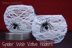 Spiderweb-votive-holders