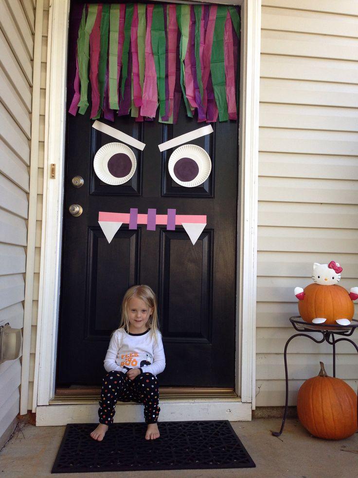 Halloween Decoramos La Puerta En Un Pa 237 S Muy Lejano