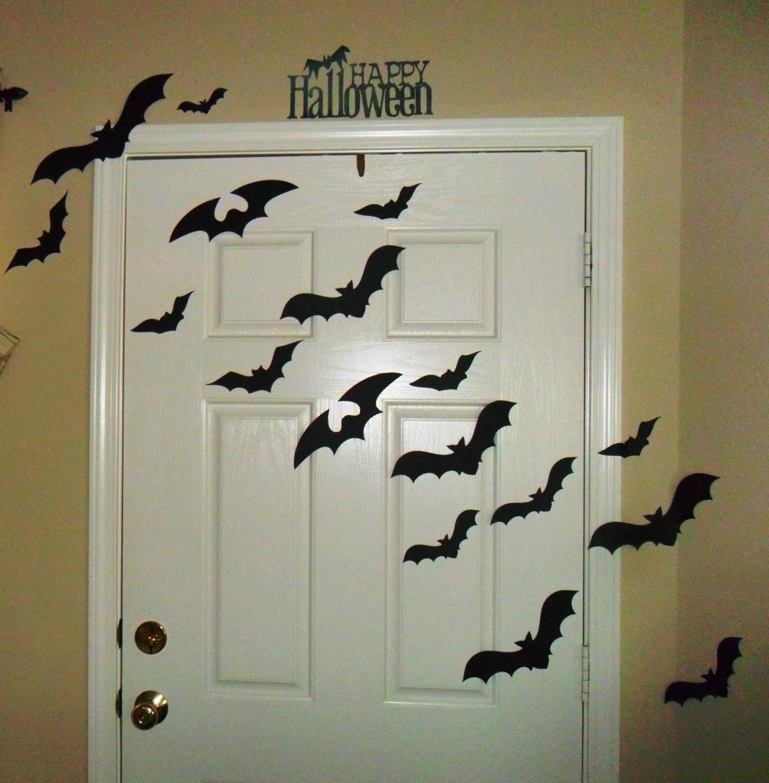 Halloween decoramos la puerta en un pa s muy lejano - Decoracion de puertas para halloween ...