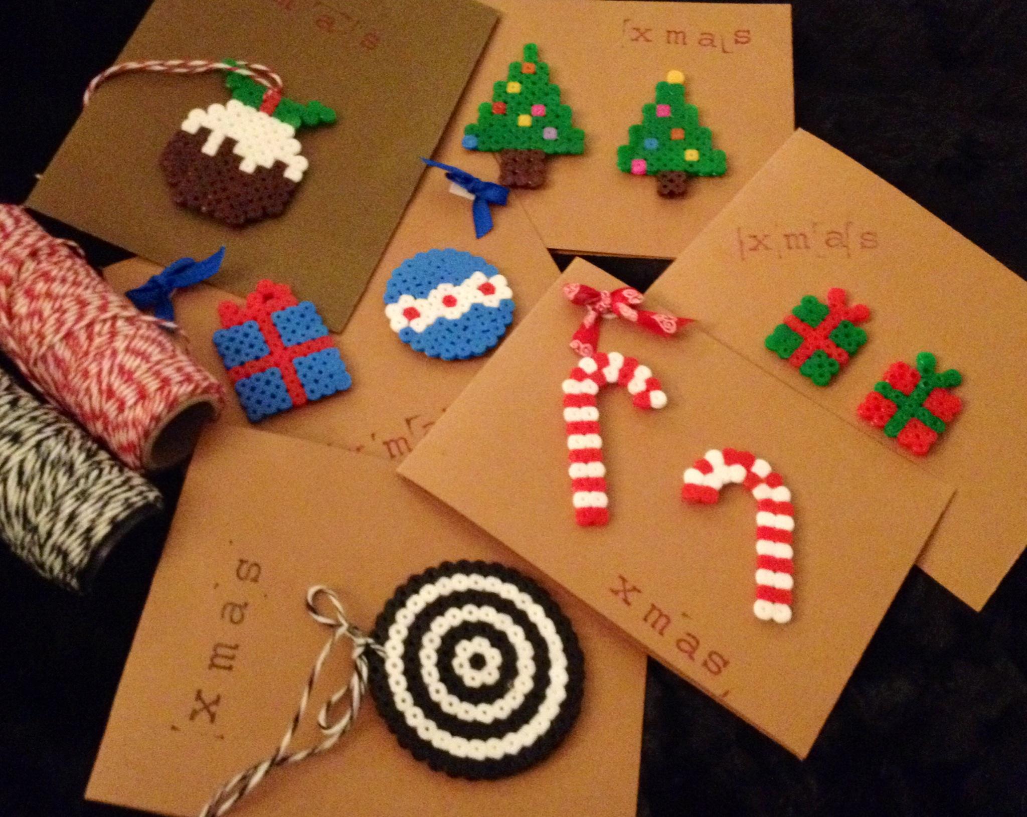 Diy christmas cards en un pa s muy lejano - Hacer tarjetas de navidad ...