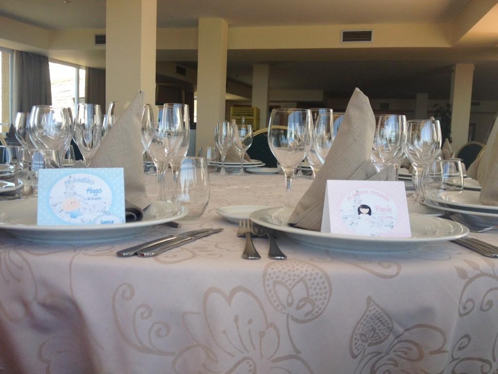comuniones decoracion mesa invitados