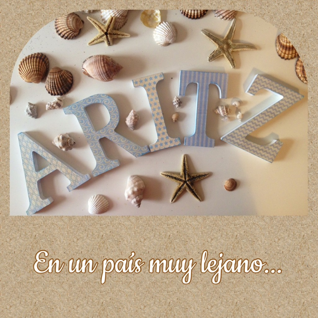 letras de madera decoradas primera comunion mesa dulce