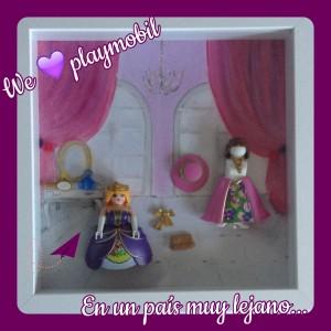 Cuadro playmobil princesas