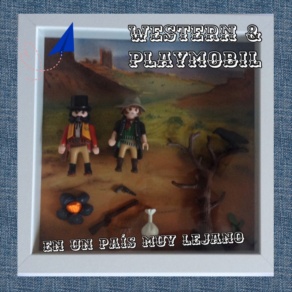 Cuadro playmobil western