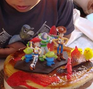 Tarta de cumpleaños de Toy Story