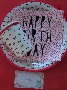 mesa cumpleaños