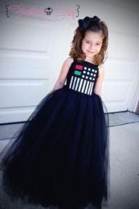 Darth Vader DIY disfraz Star Wars tutu