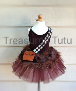 Chewbacca disfraz Star Wars tutu