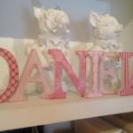 letras decoradas decoracion infantil