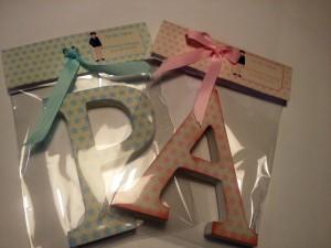 letras decoradas detalle invitado comuniones