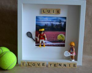 cuadros de playmobil deportes tenis
