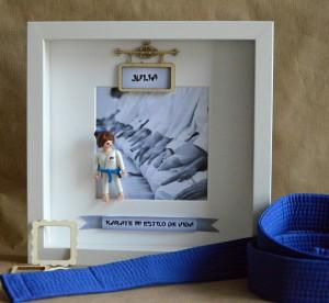cuadros de playmobil deportes karate