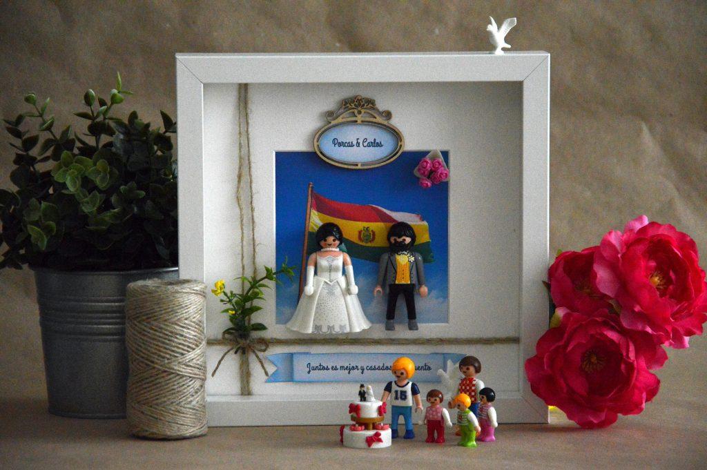 cuadros de novios de playmobil Bolivia