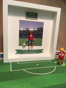 cuadros de playmobil deportes futbol
