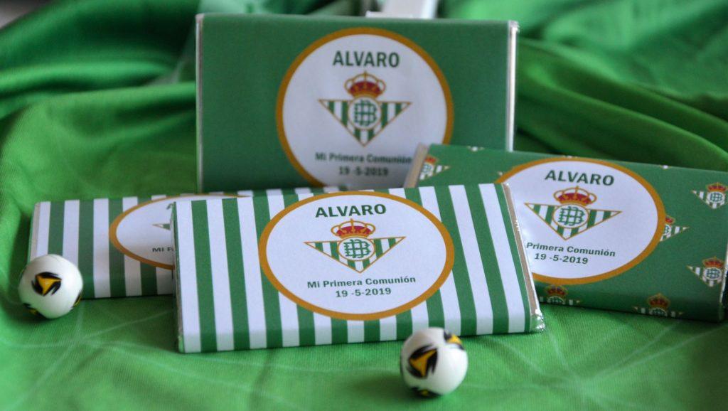 Primera comunión de fútbol Betis CHOCOLATINAS