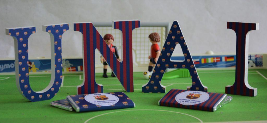 Primera comunión de fútbol BARÇA